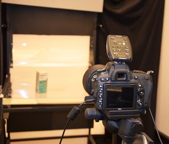 Camera mit der Artikelbilder aufgenommen werden